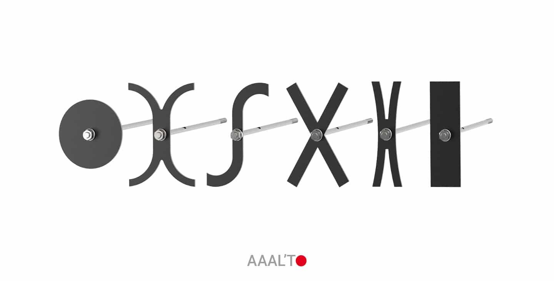 clé de tirant et croix de chainage